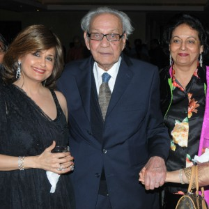 At a concert with H.S.RAZA and Meera Shrinagesh at The Leela Palace Delhi