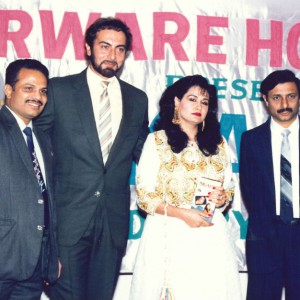 Release function of Nigaheen Video with Kabir bedi at Leila Penta Hotel In Mumbai